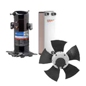 Komponente za toplotne črpalke